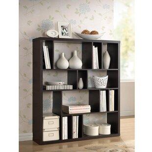 Cade Geometric Bookcase by Brayden Studio