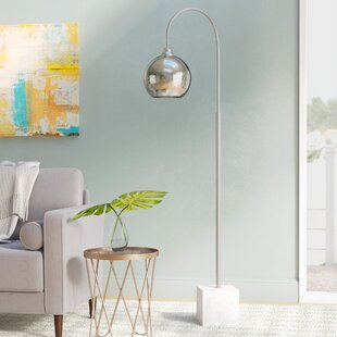 Price comparison Salina 68.5 Arched Floor Lamp By Ivy Bronx