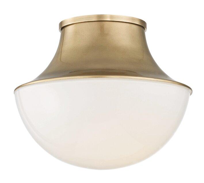 Alistair 1 Light Flush Mount Reviews Allmodern