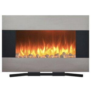 Wall Mounted Fireplaces Youll Love Wayfair - Style selections electric fireplace