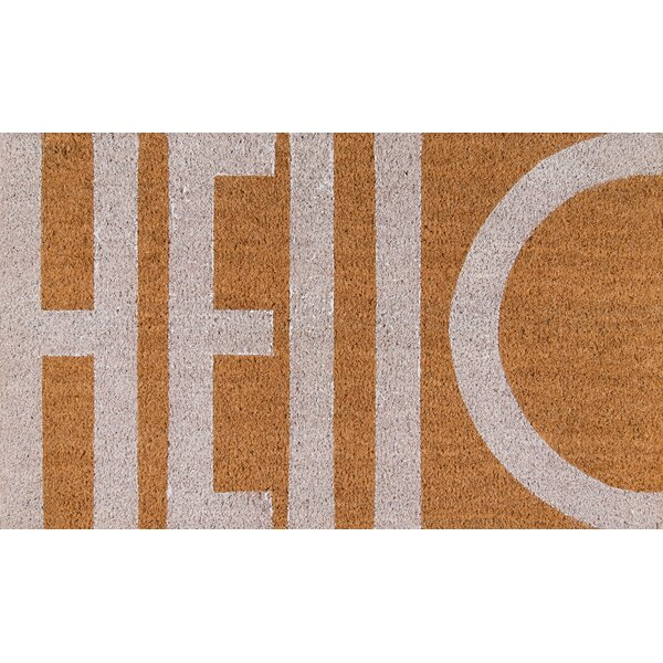 Novogratz By Momeni Aloha Hello Doormat & Reviews by Novogratz By Momeni