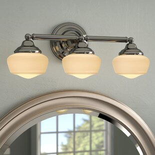 Read Reviews Sainz 3-Light Vanity Light By Laurel Foundry Modern Farmhouse