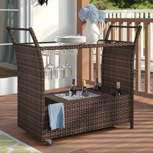 Bratton Heights Aluminum and resin wicker By Three Posts