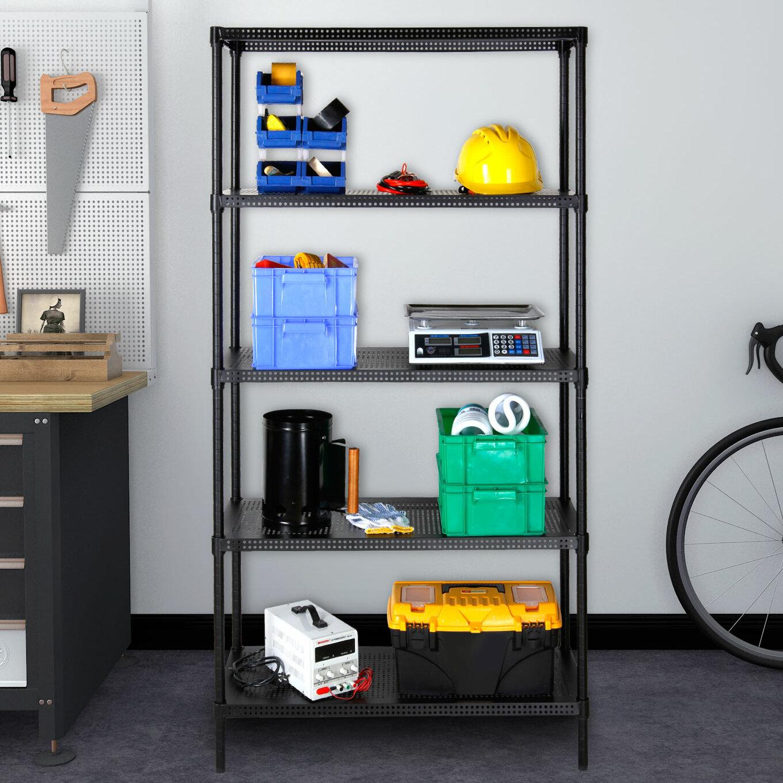& Lifewit 5-Tier Heavy-Duty Adjustable Storage Rack | Wayfair