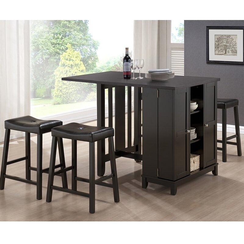 Wholesale Interiors Baxton Studio Aurora Piece Dining Table Set