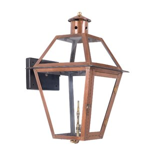Bay Isle Home Aglandjia 1-Light Outdoor Wall Lantern