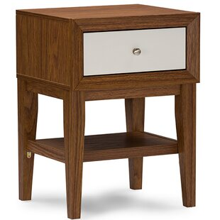 Perrinton Modern 1 Drawer Nightstand