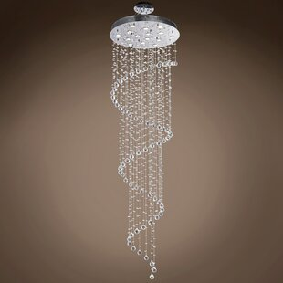 Drops of Rain 11-Light Semi Flush Mount by WeGotLites