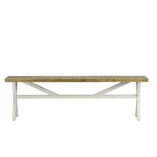 Holsinger Wood Bench by August Grove