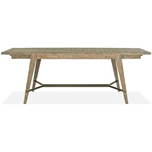 Gracie Oaks Obadiah Extendable Dining Table