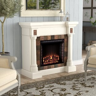 Ridgewood Electric Fireplace by Alcott Hill
