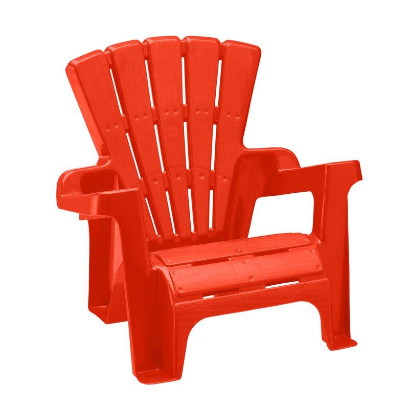 Merveilleux Kriebel Kids Plastic Adirondack Chair Set
