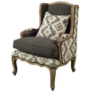 Renald Wingback Chair by Loon ..