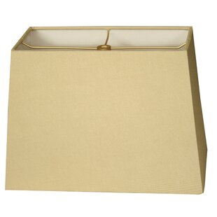 Check Prices 8 Shantung Rectangular Lamp Shade By Alcott Hill
