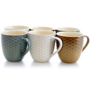 Harwell Honey Bee Coffee Mug (Set of 6)