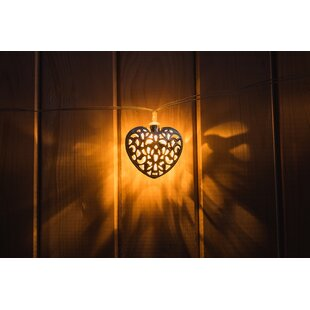 Touch of ECO Solar Hearts Novelty String Lights