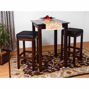 Eady 3 Piece Pub Table Set DarHome Co