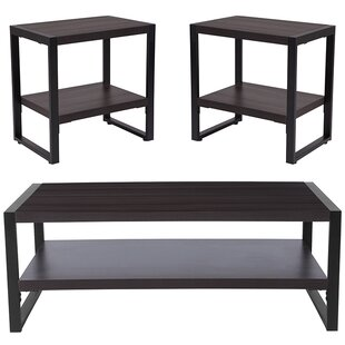Ebern Designs Booker 3 Piece Coffee Table Set