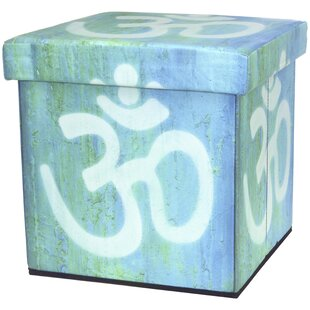 Om Storage Ottoman by Oriental Furniture