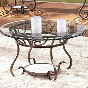 Crossen Base Coffee Table by Fleur De Lis..