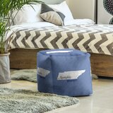 Memphis Tennessee Cube Ottoman by East Urban Home