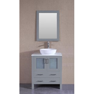 Shopping for Macomber 30 Single Bathroom Vanity Set with Mirror ByBreakwater Bay