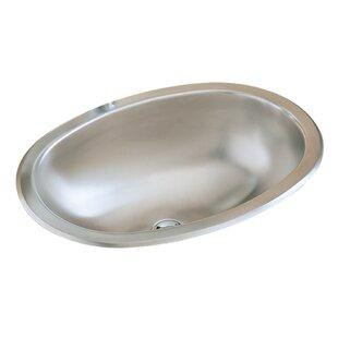 Sterling by Kohler Metal Oval Dual Mount Bathroom Sink