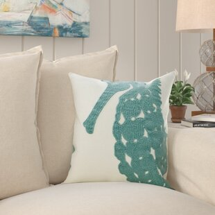 Charlack Embroidery 100% Cotton Throw Pillow