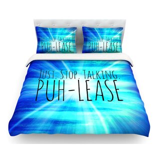 Puh-lease by Ebi Emporium Featherweight Duvet Cover