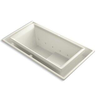 Sok 75 x 41 Whirlpool Bathtub by Kohler