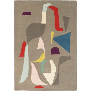 Estella Hand-Tufted Neutral/Gray Area Rug