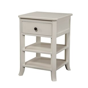 Acworth 1 Drawer Nightstand by Three Posts