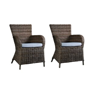 Hillview Upholstered Dining Chair (Set Of 2) By Beachcrest Home