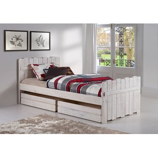 Wander Twin Panel Bed with Storage