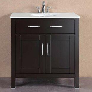 32 Single Modern Bathroom Vanity Set by Belvedere Bath