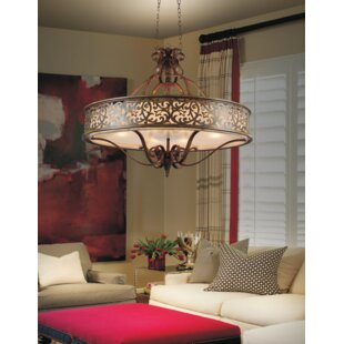 CWI Lighting Nicole 6-Light Chandelier