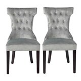 Baltimore Tufted Upholstered Parsons Chair (Set of 2) by Everly Quinn