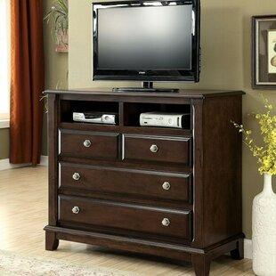 Charlton Home Rossignol Media 4 Drawer Chest