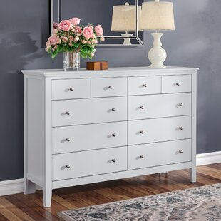 Aguilera 10 Drawer Double Dresser