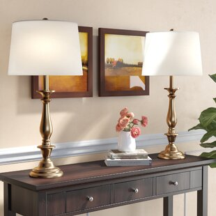 Calliope Candlestick 29 Table Lamp (Set of 2)
