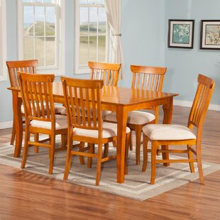 Newry 7 Piece Solid Wood Dining Set