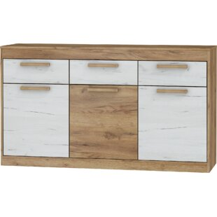 Columbia 3 Drawers Sideboard by Ebern Designs