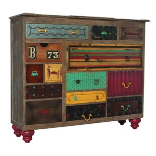 Ankara Mosaic 14 Drawer Treasures Accent Chest by Bungalow Rose