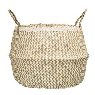 Wicker Basket By Bloomingville
