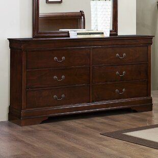 Waynesburg 6 Drawer Double Dresser