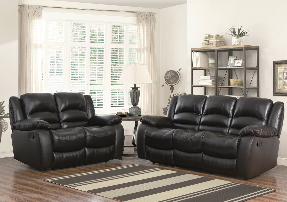 Jorgensen Leather 2 Piece Living Room Set Part 8
