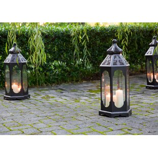 Victoria Metal Lantern by Peak Season Inc.