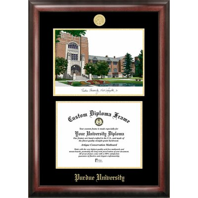 Campus Images NCAA Purdue University Diploma Frame with Lithograph ...