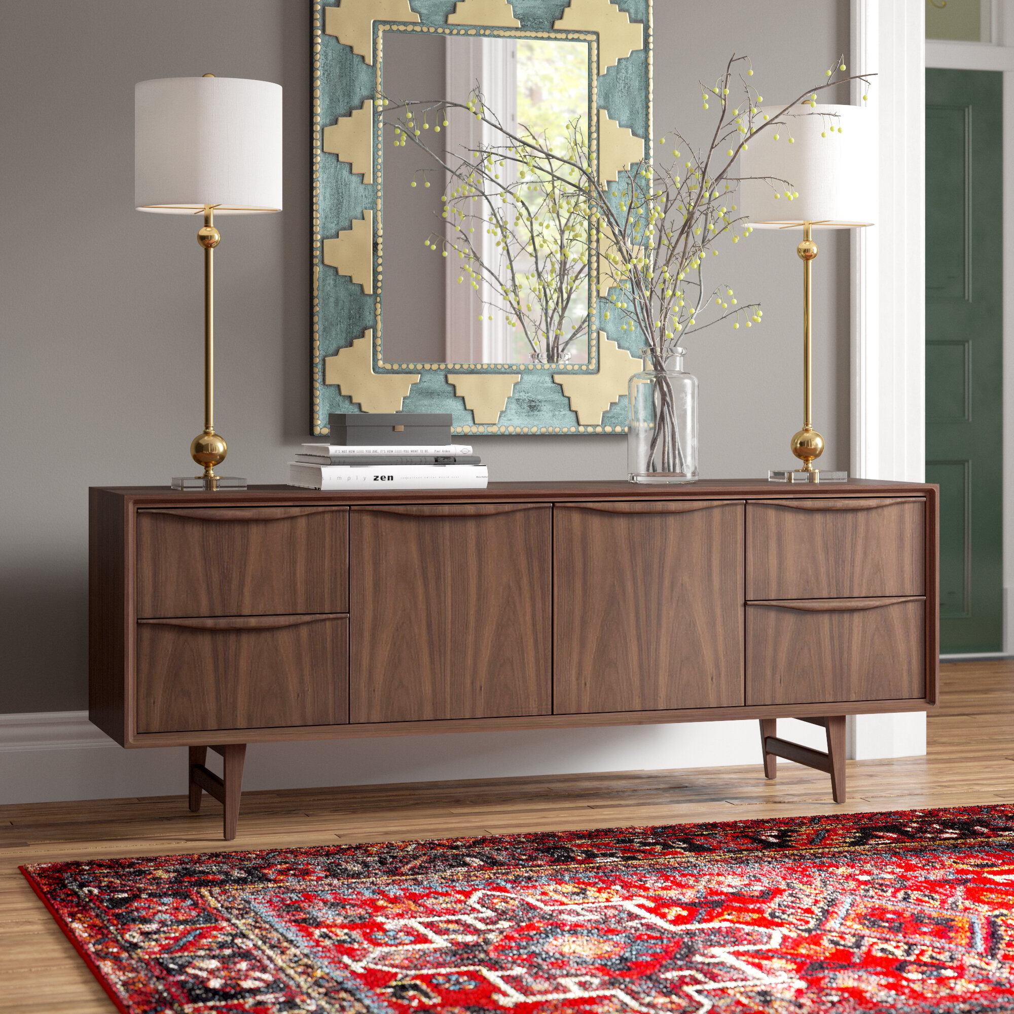 Picture of: Marquis Solid Wood Buffet Table Reviews