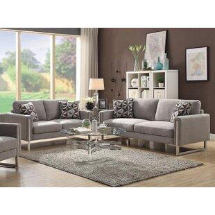 Orren Ellis Stage 2 Piece Living Room Set